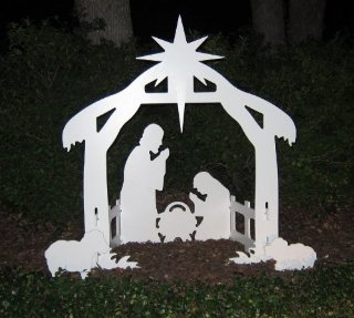 Christmas Outdoor Nativity Scene Set (Small)