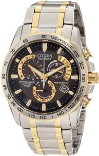 Citizen AT4004-52E Eco-Drive Perpetual Chrono A-T Men's Watch