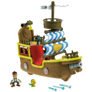 Fisher-Price Jake's Musical Pirate Ship Bucky
