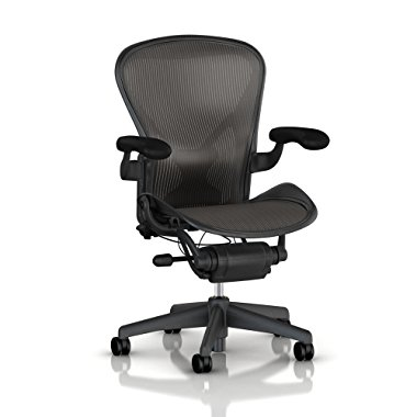 Herman Miller Aeron Chair (Carbon Classic, Medium)