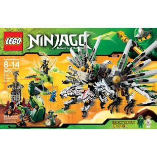 LEGO Ninjago Epic Dragon Battle (9450)