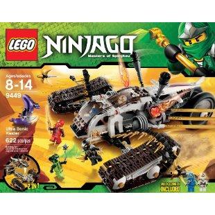 LEGO Ninjago Ultra Sonic Raider Set (9449)