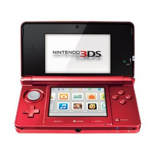 Nintendo 3DS System (Flame Red)