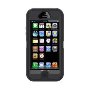 OtterBox Defender Series Case for iPhone 5 (Black)