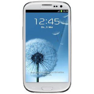 Samsung Galaxy S III Factory Unlocked Phone GT-I9300 (White)