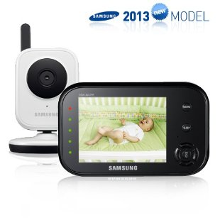 Samsung SEW-3036WN Wireless Video Baby Monitor with Infrared Night Vision and Zoom
