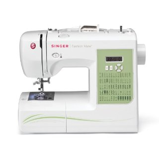 Singer 7256 Fashion Mate 70-Stitch Computerized Free-Arm Sewing Machine with DVD