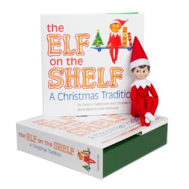The Elf on the Shelf: A Christmas Tradition Storybook with Blue Eyed North Pole Pixie-Elf