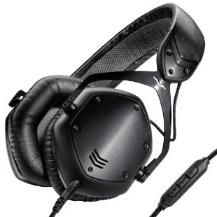 V-MODA Crossfade LP2 Noise-Isolating Metal Headphone (Matte Black)