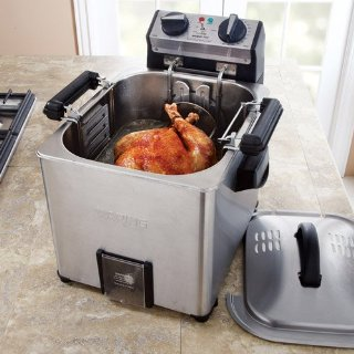 Waring Pro Indoor Rotisserie Turkey Fryer/Steamer (TF200)