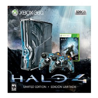 Xbox 360 320GB Limited Edition Halo 4 Bundle
