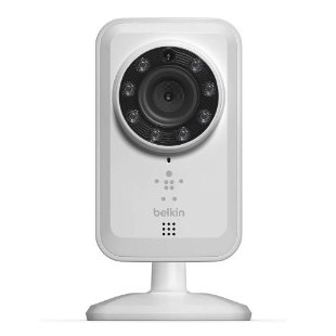 Belkin NetCam Wireless Camera with Night Vision for Tablet and Smartphone (F7D7601)
