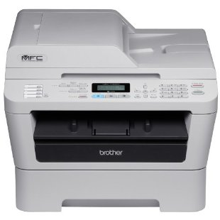 Brother MFC-7360N Monochrome Printer with Scanner, Copier & Fax and built in Networking