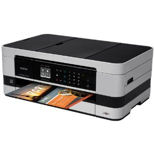 Brother MFC-J4410DW  Business Smart Multi-Function Inkjet and Wireless Color Photo Printer with Scanner, Copier and Fax