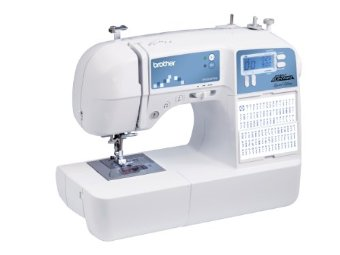 Brother XR9500PRW Limited Edition Project Runway Sewing Machine with 100 Built-in Stitches, Quilting Table