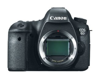 Canon EOS 6D 20.2MP Digital SLR Camera (Body Only)