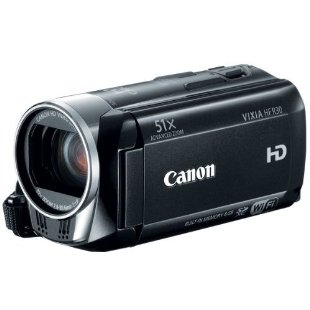 Canon VIXIA HF R30 Camcorder with 51x Zoom, Wi-Fi, 8GB Internal Storage, and Dual SDXC Card Slots