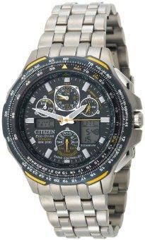 Citizen JY0050-55L Eco-Drive Blue Angels Skyhawk A-T Chronograph Titanium Watch
