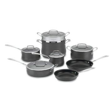 Cuisinart 64-13 Contour Hard Anodized 13-Piece Cookware Set
