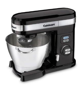 Cuisinart SM-55BK Stand Mixer (5.5 Qt., Black)