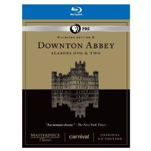 Downton Abbey Seasons 1 & 2 Limited Edition Set - Original UK Version Set [Blu-ray]