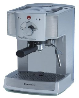 Espressione Cafe Minuetto Professional Thermoblock Espresso Machine (Silver)