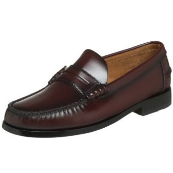 Florsheim Berkley Penny Loafers (Black, Burgundy, or Wine)