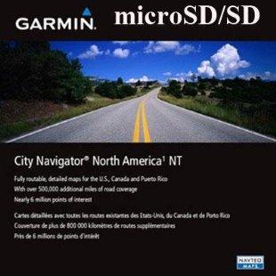 Garmin City Navigator North America NT 2013 microSD / SD Card