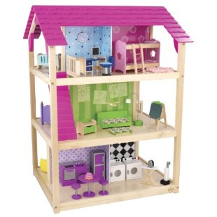 KidKraft So Chic Deluxe Dollhouse (65078)