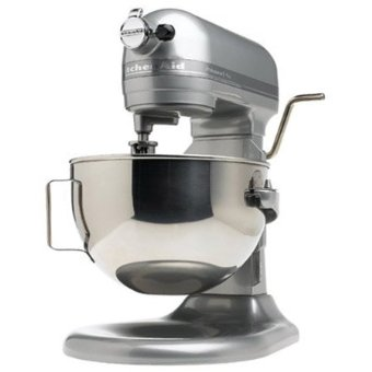 KitchenAid Pro 600 Series 6-Quart Bowl-Lift Stand Mixer (KP26M1XMC, Metalic Chrome)