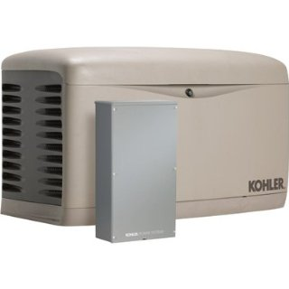 Kohler 14RESAL Residential Standby Generator with 100 Amp Transfer Switch (14 kW with LP / 12 kW with NG)