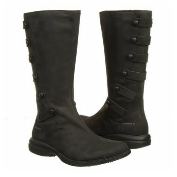 Merrell Captiva Launch Waterproof Boots (Black or Cinnamon)
