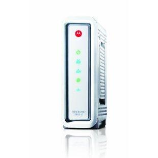 Motorola SurfBoard SB6141 DOCSIS 3.0 Cable Modem (White)