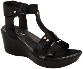 Naot Flirt Sandal (Black, Brass, or Acropolis Leather)