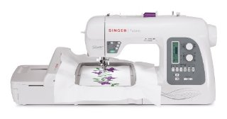 Singer Futura XL-550 Sewing and Embroidery Machine with 215-Stitch and Automatic Electronic Thread Cutter