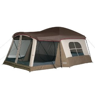 Wenzel Klondike 16x11' Eight-Person Family Cabin Dome Tent