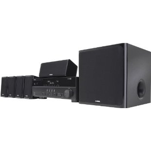 Yamaha YHT-497 5.1-Channel Digital Home Theater System (YHT-497BL)