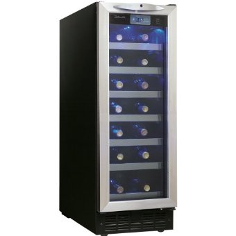 Danby DWC276BLS Silhouette 27-Bottle Wine Cellar with Blue LED Light