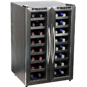 Whynter WC-321DD 32 Bottle Dual Temperature Zone Wine Cooler