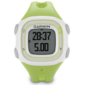 Garmin Forerunner 10 Women's GPS Watch (Green/White)