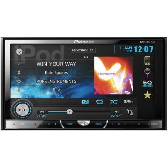 Pioneer AVH-X4500BT Multimedia DVD Receiver with 7 Touchscreen Display and Bluetooth