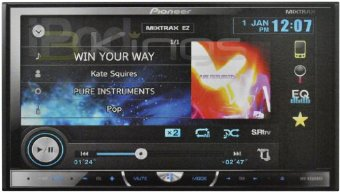 Pioneer AVH-X5500BHS Multimedia DVD Receiver with 7 Motorized Touchscreen Display