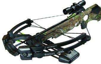 Barnett Ghost 350 CRT Crossbow Package (Quiver, 3 - 20 Arrows and Illuminated 3x32mm Scope) #78021