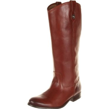 FRYE Melissa Button Knee-High Boot (Cognac or 25 Other Color Options)