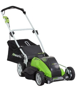 Greenworks G-MAX Cordless 19 40V Li-Ion Lawn Mower (25312)
