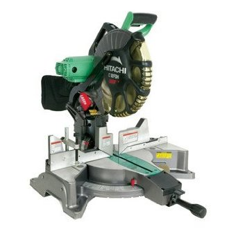 Hitachi C12FDH 12 Dual-Bevel Compound Miter Saw with Laser
