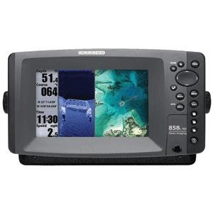 Humminbird 858C HD DI External GPS Combo with Down Imaging and DualBeam Fishfinder (409000-1)