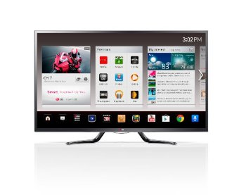LG 47GA6400 47 Cinema 3D 1080p 120Hz LED-LCD HDTV with Google TV and Four Pairs of 3D Glasses