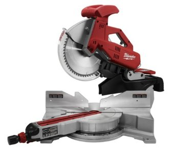 Milwaukee 6955-20 12 Sliding Dual Bevel Miter Saw with Digital Miter Angle Fine Adjust