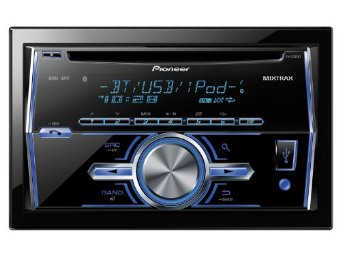 Pioneer FH-X700BT In-Dash Double-DIN CD/MP3/USB Receiver w/ Bluetooth, Pandora Link, MIXTRAX & iPod Support